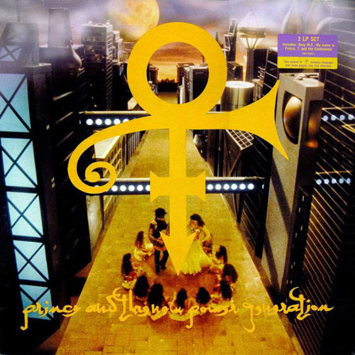 Prince tribute the wild word for Love is a four letter word album cover