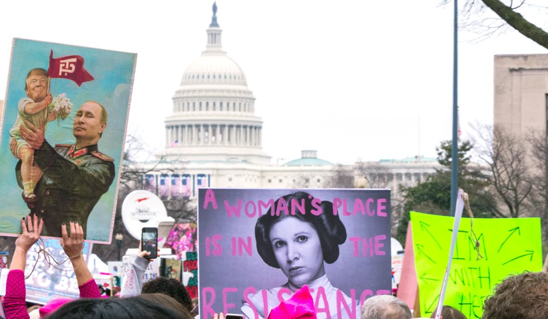 Carrie Fisher Sent Me: Feminism Marches On